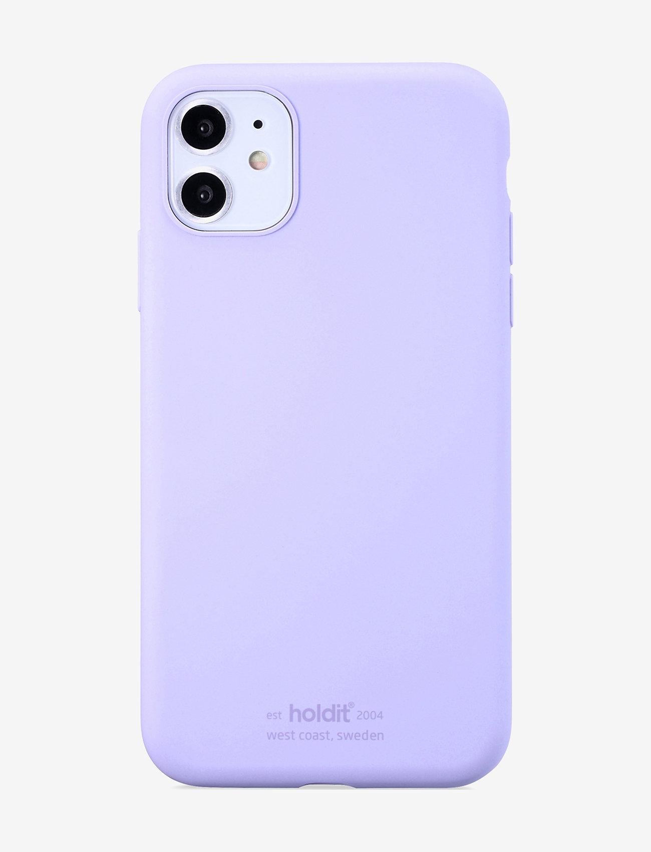 Holdit - Silicone Case iPhone 11 - puhelimen kuoret - lavender - 1