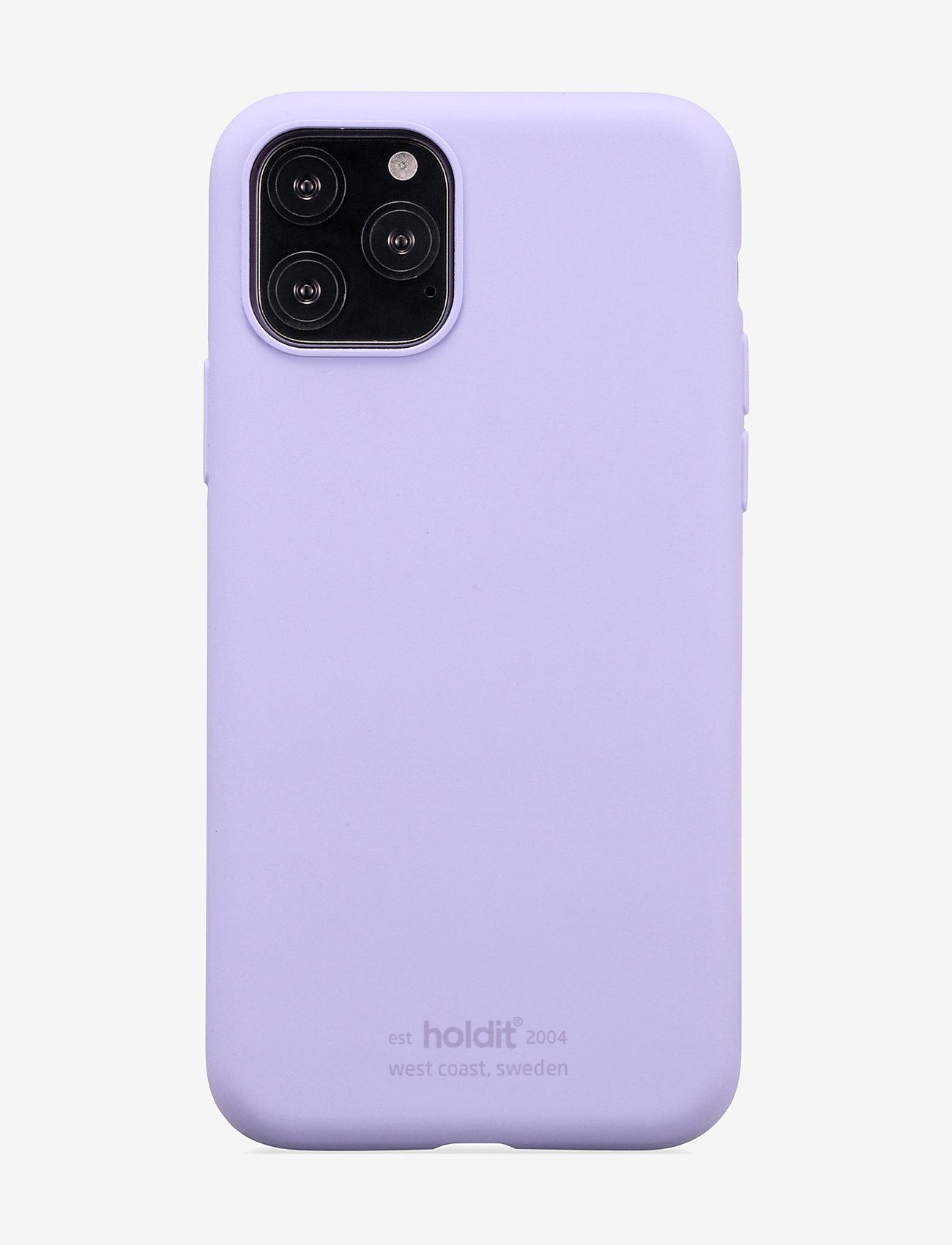 Holdit - Silicone Case iPhone 11 Pro - puhelimen kuoret - lavender - 1