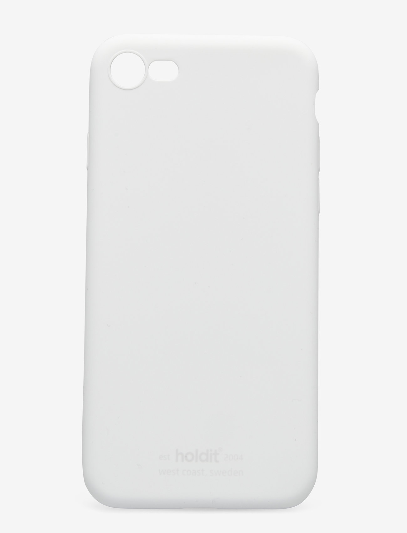 Holdit - Silicone Case iPhone 7/8/SE - puhelimen kuoret - white - 1