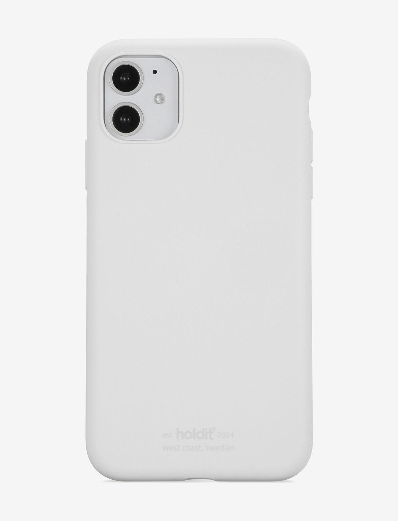 Holdit - Silicone Case iPhone 11 - puhelimen kuoret - white - 1
