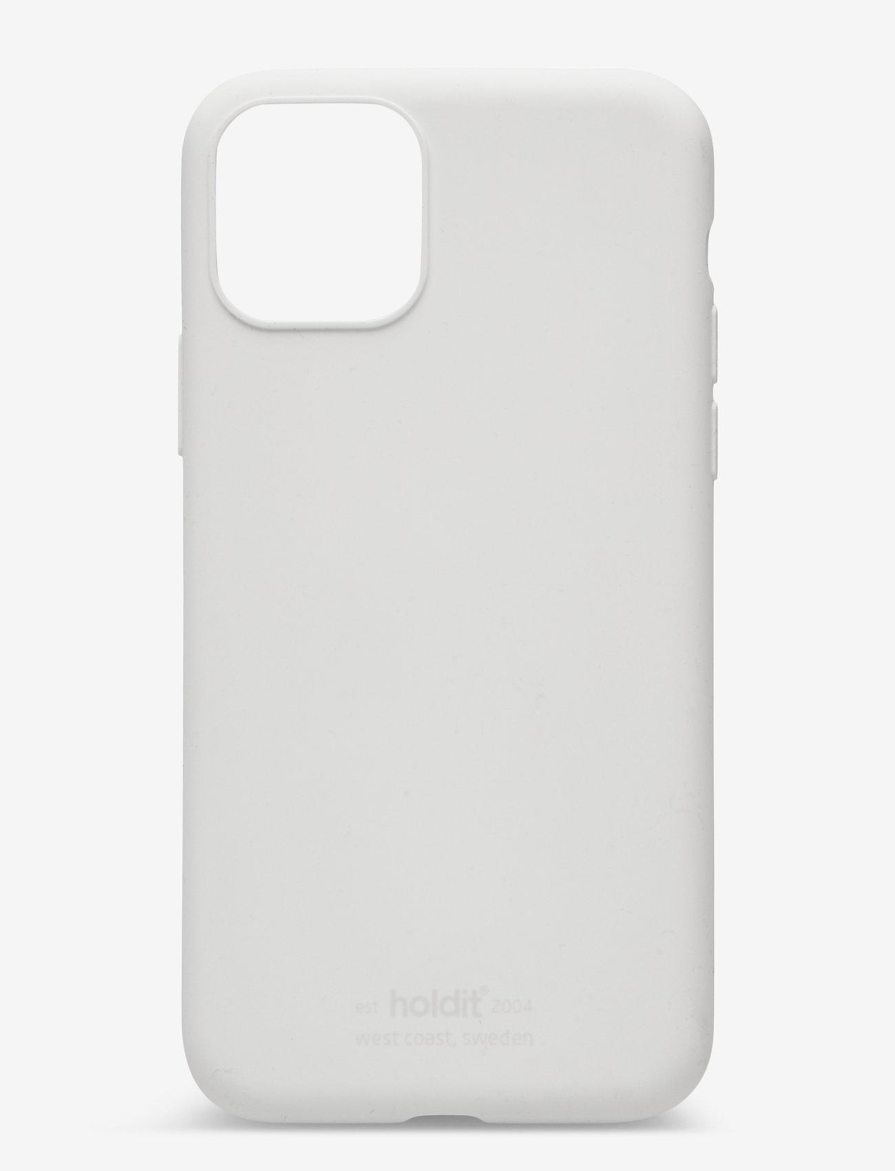 Holdit - Silicone Case iPhone 11 Pro - puhelimen kuoret - white - 1