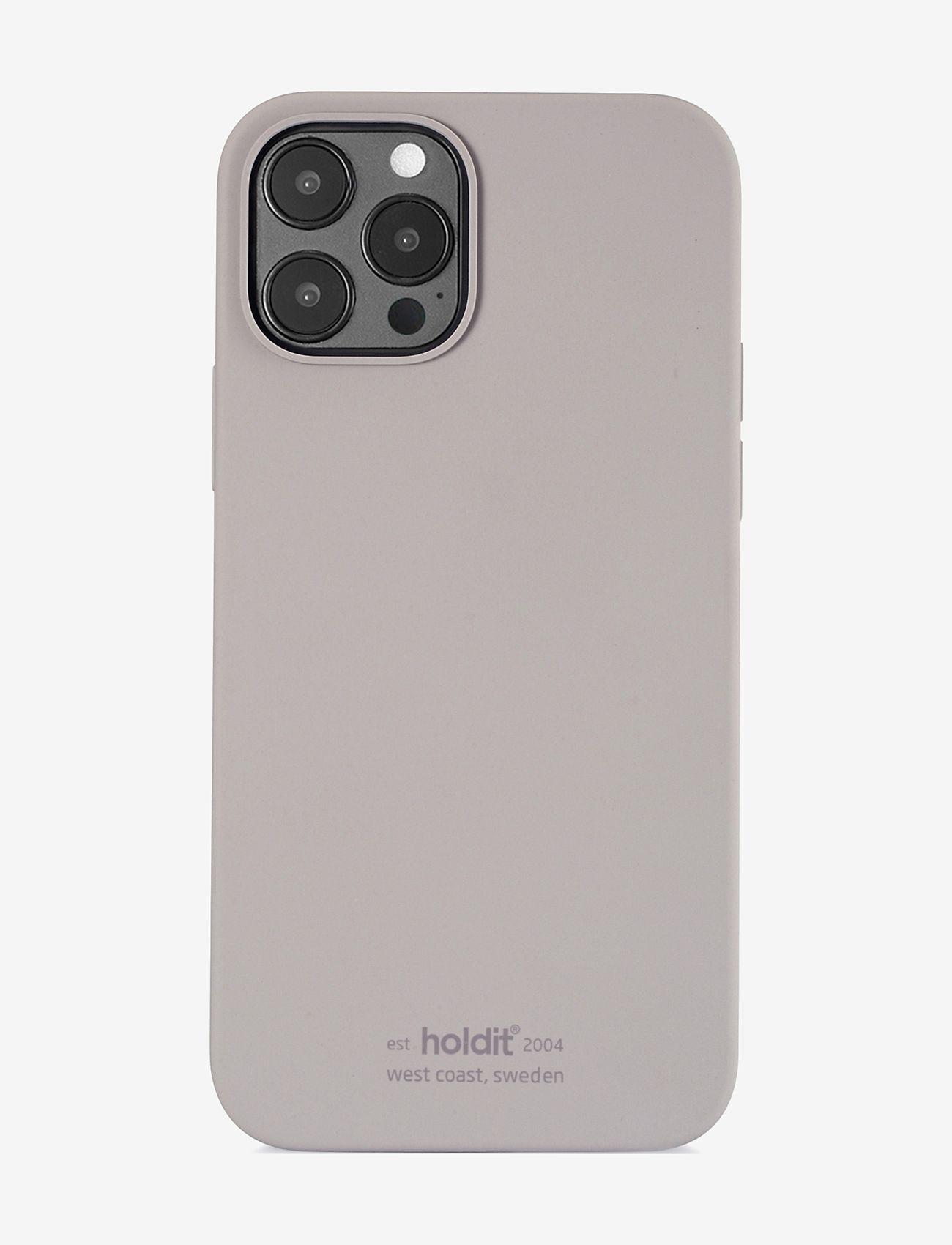 Holdit - Silicone Case iPhone 12/12Pro - puhelimen kuoret - taupe - 0