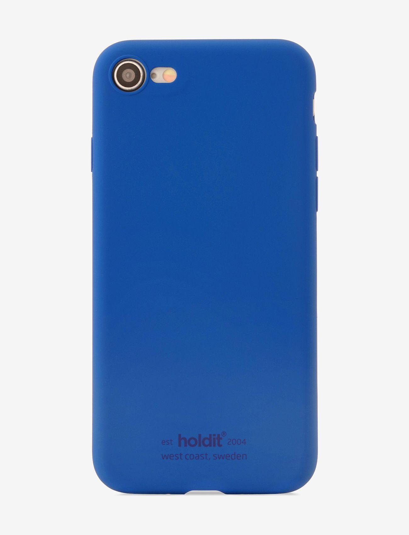 Holdit - Silicone Case iPhone 7/8/SE - puhelimen kuoret - royal blue - 1