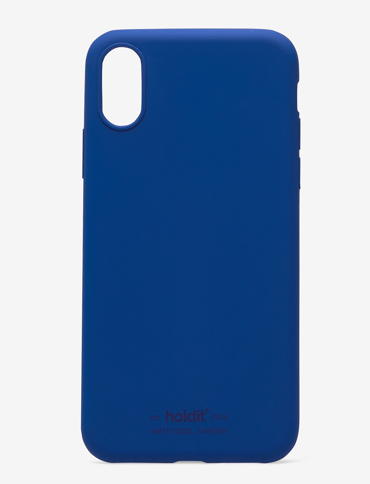 Holdit - Silicone Case iPhone X/Xs - puhelimen kuoret - royal blue - 1