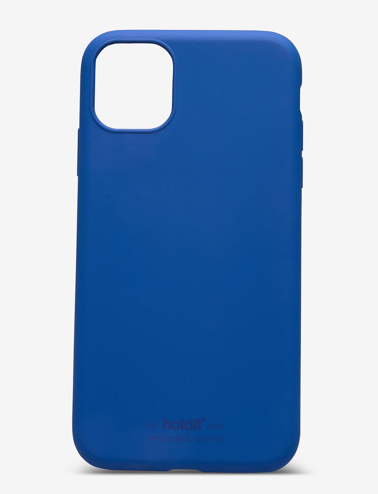 Holdit - Silicone Case iPhone 11 - puhelimen kuoret - royal blue - 1