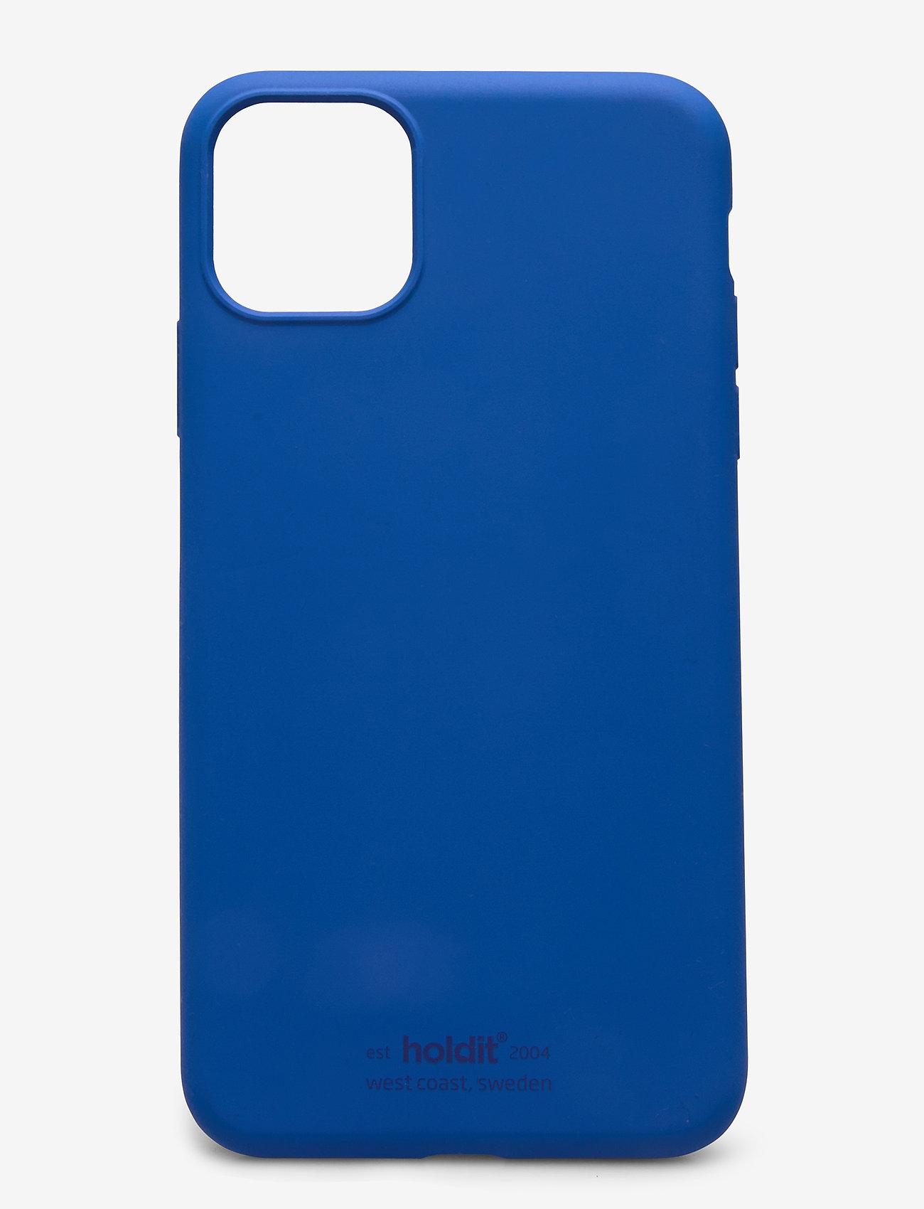 Holdit - Silicone Case iPh 11 Pro Max - puhelimen kuoret - royal blue - 1
