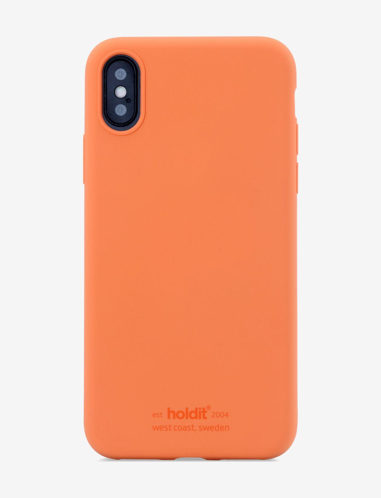 Holdit - Silicone Case iPhone X/Xs - puhelimen kuoret - orange - 1