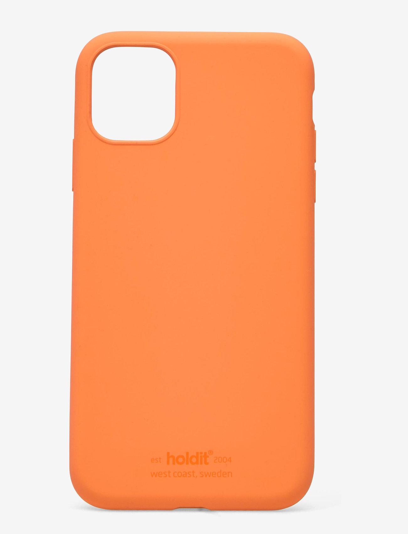 Holdit - Silicone Case iPhone 11 - puhelimen kuoret - orange - 1