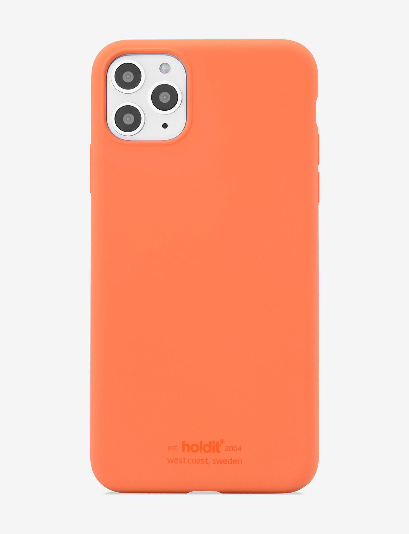 Holdit - Silicone Case iPh 11 Pro Max - puhelimen kuoret - orange - 1