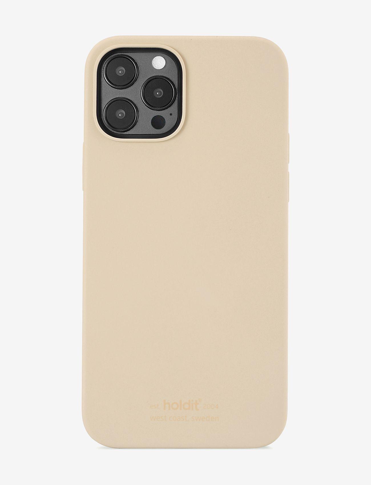 Holdit - Silicone Case iPhone 12/12Pro - puhelimen kuoret - beige - 0