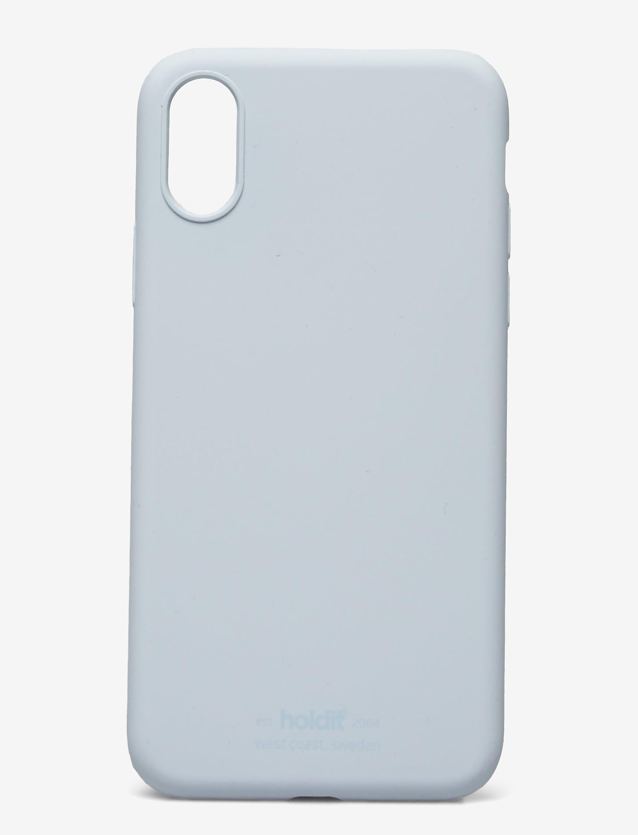 Holdit - Silicone Case iPhone X/Xs - puhelimen kuoret - mineral blue - 1
