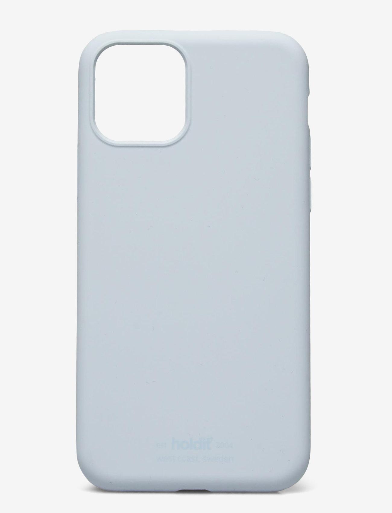 Holdit - Silicone Case iPhone 11 Pro - puhelimen kuoret - mineral blue - 1