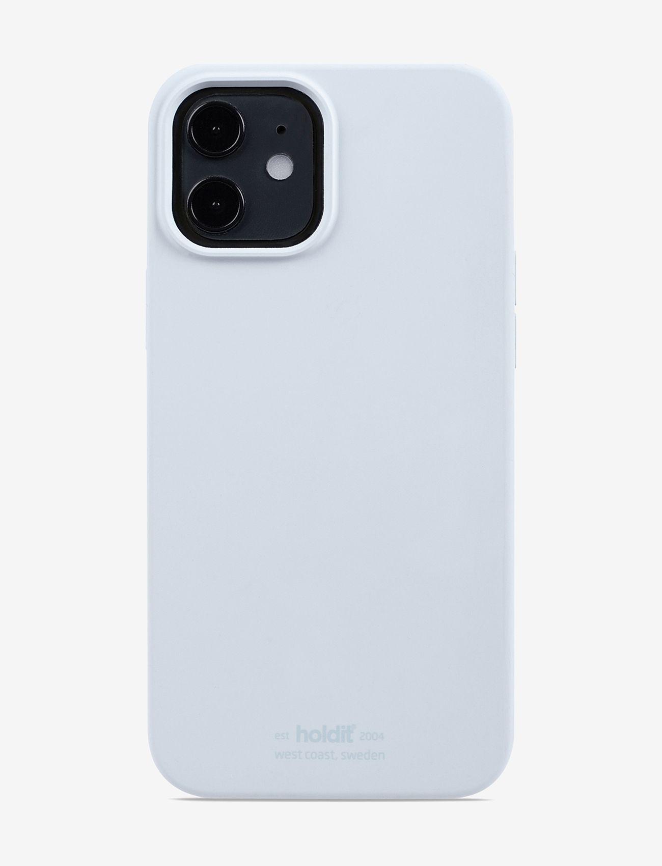 Holdit - Silicone Case iPhone 12/12Pro - puhelimen kuoret - mineral blue - 1