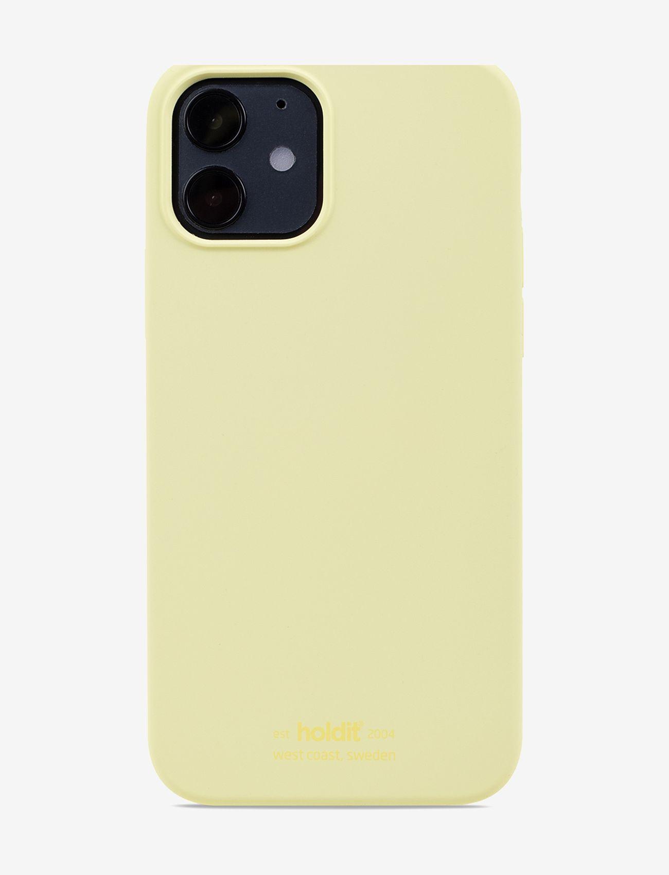 Holdit - Silicone Case iPhone 12/12Pro - puhelimen kuoret - lemonade - 1