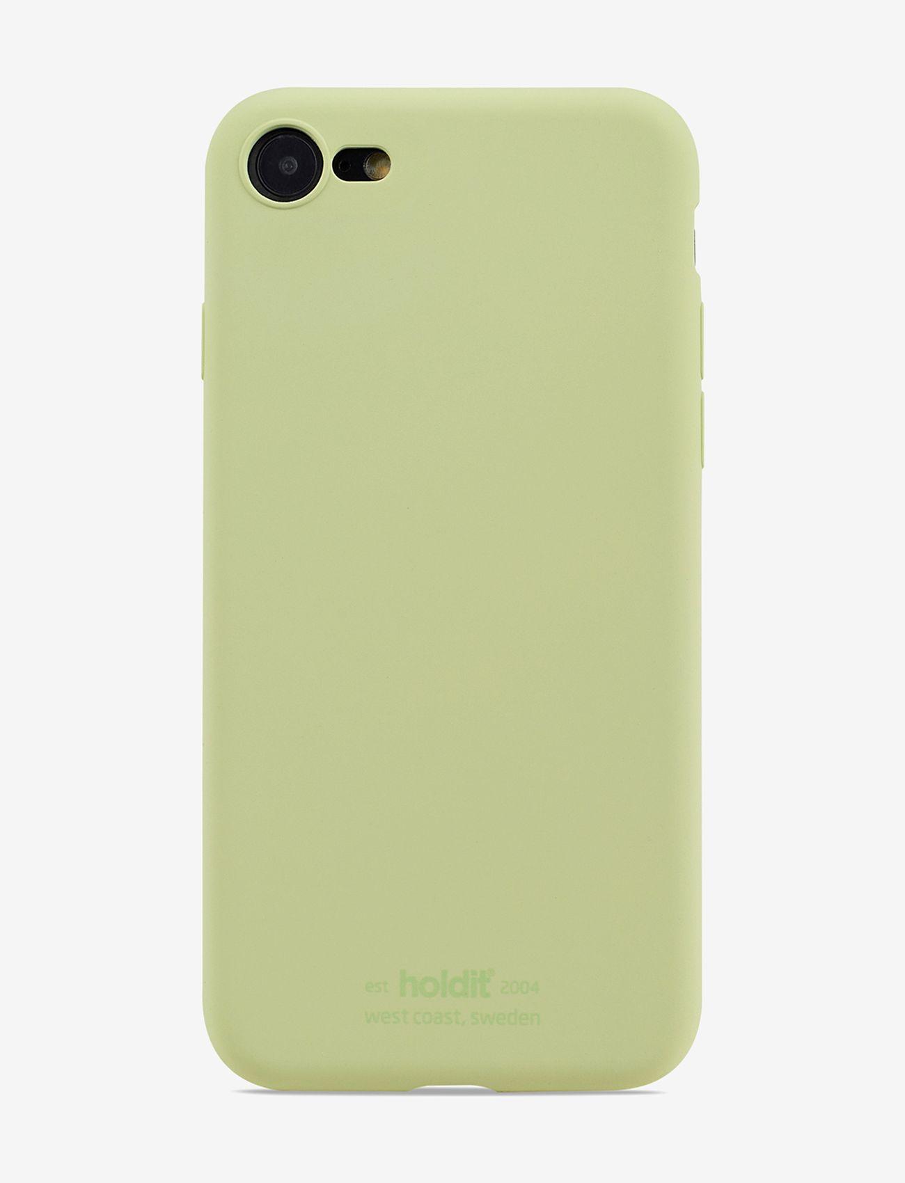 Holdit - Silicone Case iPhone 7/8/SE - puhelimen kuoret - kiwi - 1