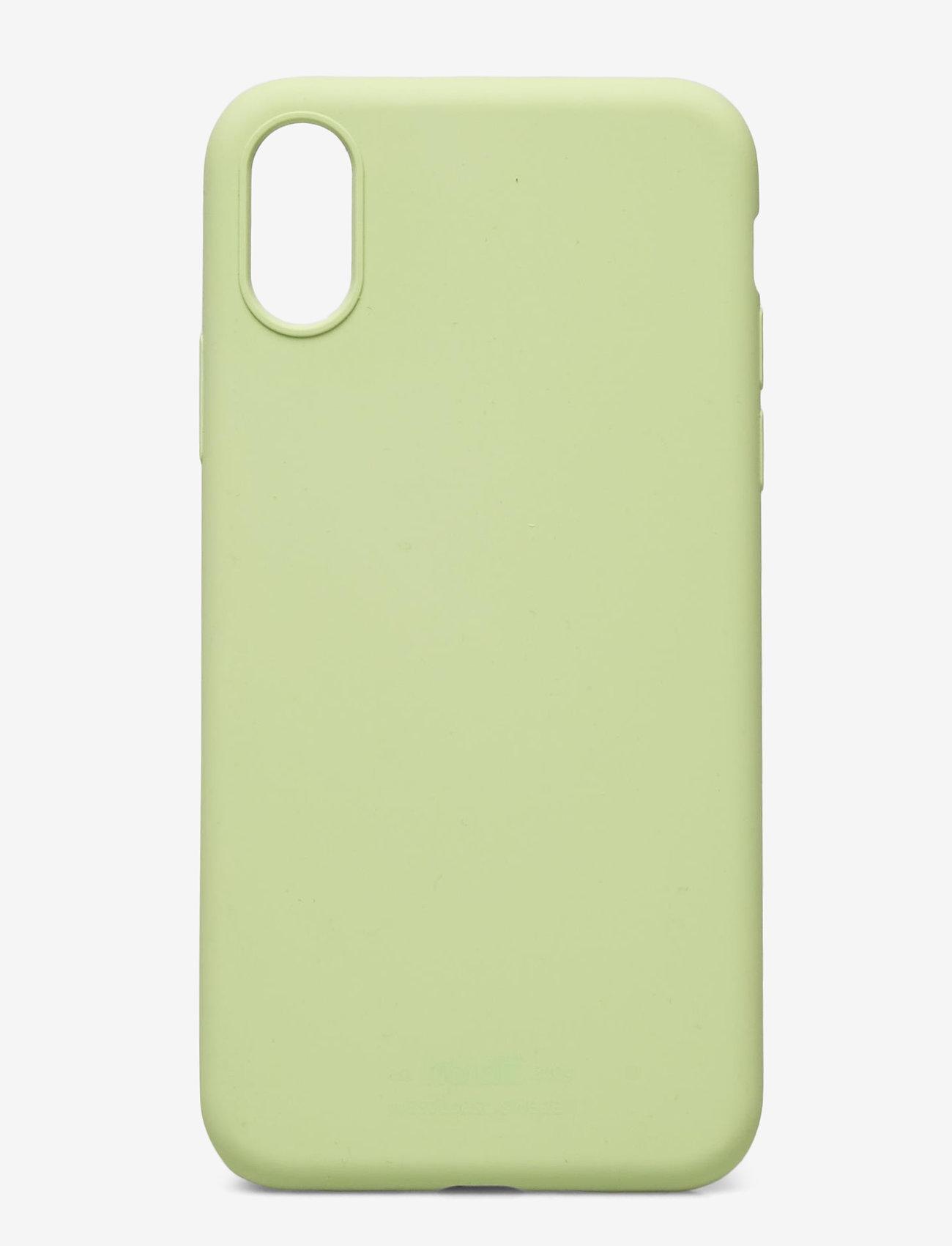 Holdit - Silicone Case iPhone X/Xs - puhelimen kuoret - kiwi - 1