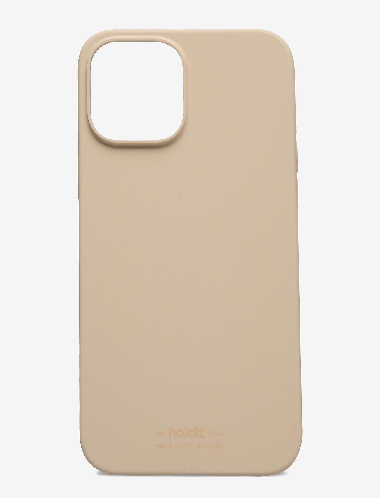 Holdit - Silicone Case iPhone 12Pro Max - puhelimen kuoret - beige - 0
