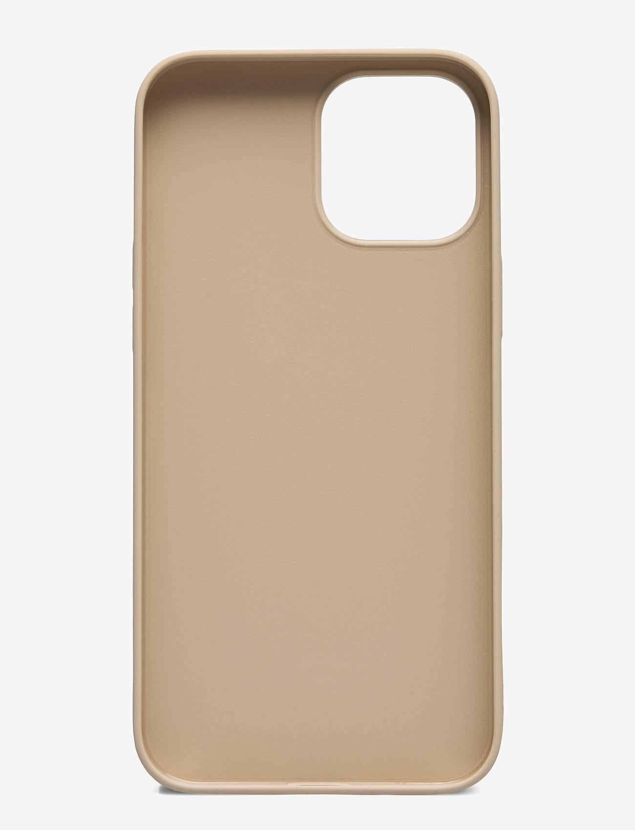 Holdit - Silicone Case iPhone 12Pro Max - puhelimen kuoret - beige - 1