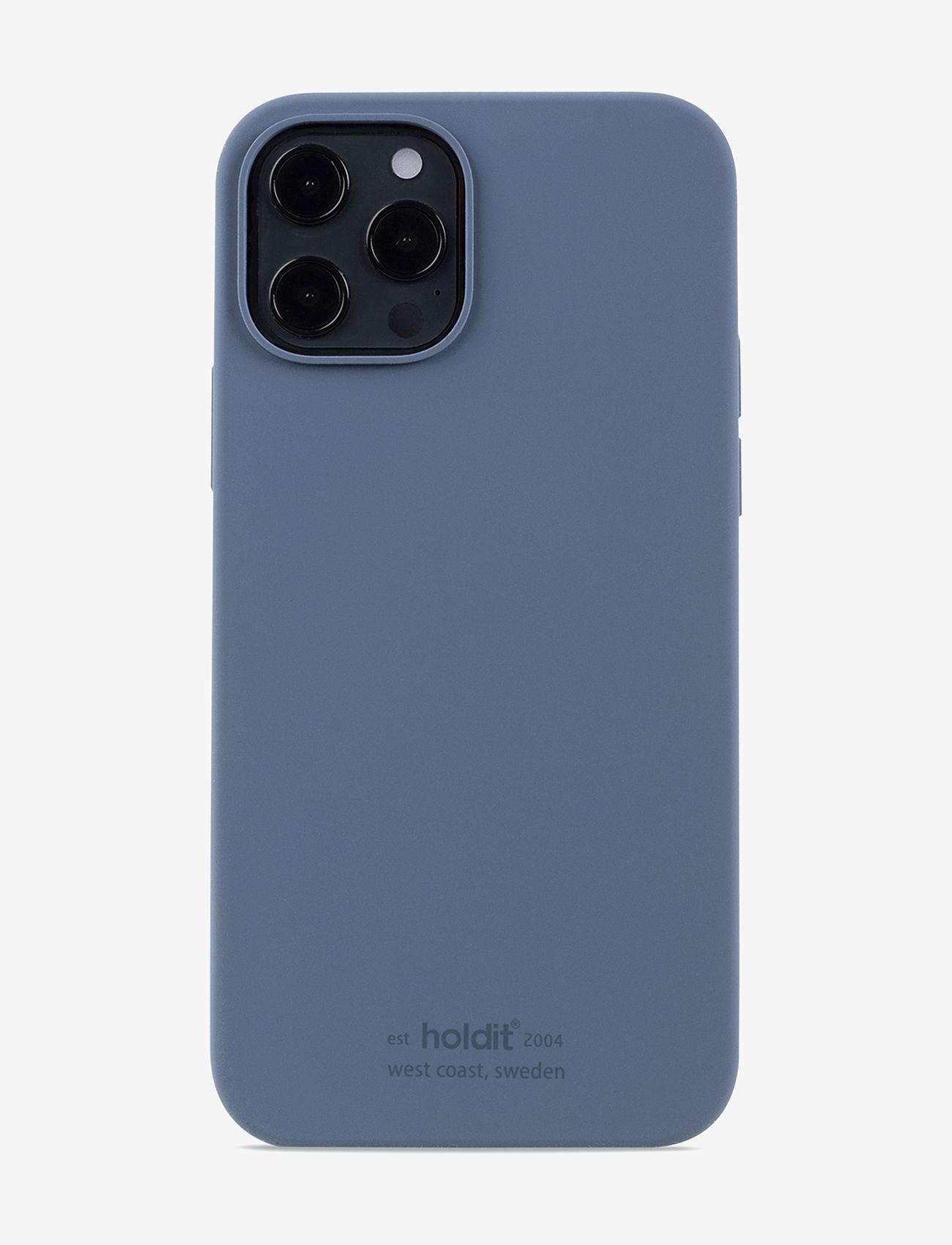 Holdit - Silicone Case iPhone 12/12Pro - puhelimen kuoret - pacific blue - 1