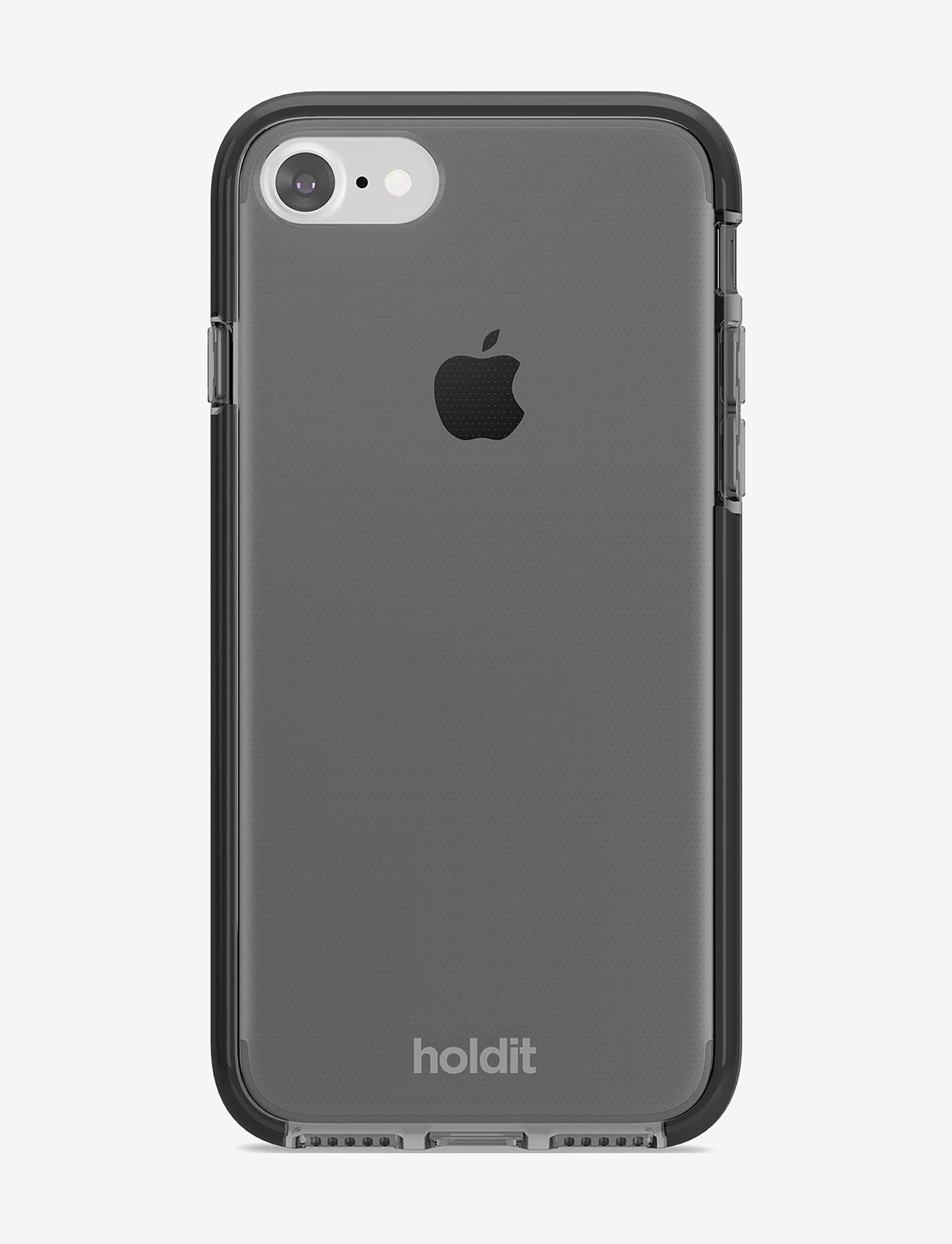 Holdit - Seethru Case iPhone 7/8/SE - puhelimen kuoret - black - 1
