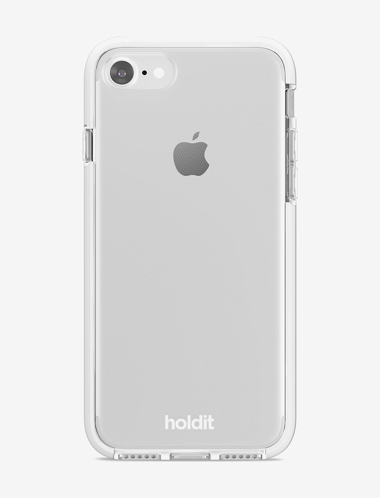 Holdit - Seethru Case iPhone 7/8/SE - puhelimen kuoret - white - 1