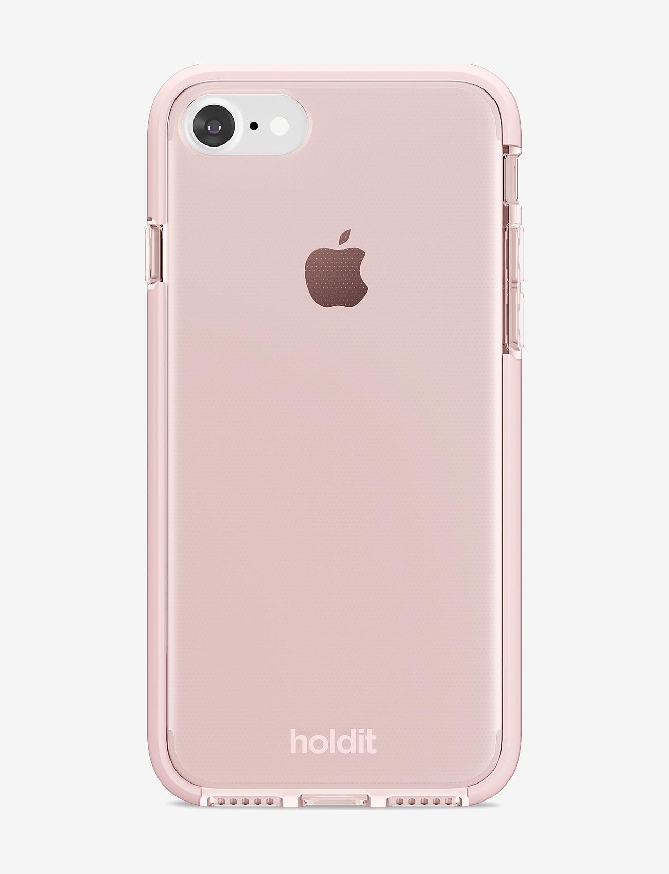 Holdit - Seethru Case iPhone 7/8/SE - puhelimen kuoret - blush pink - 1