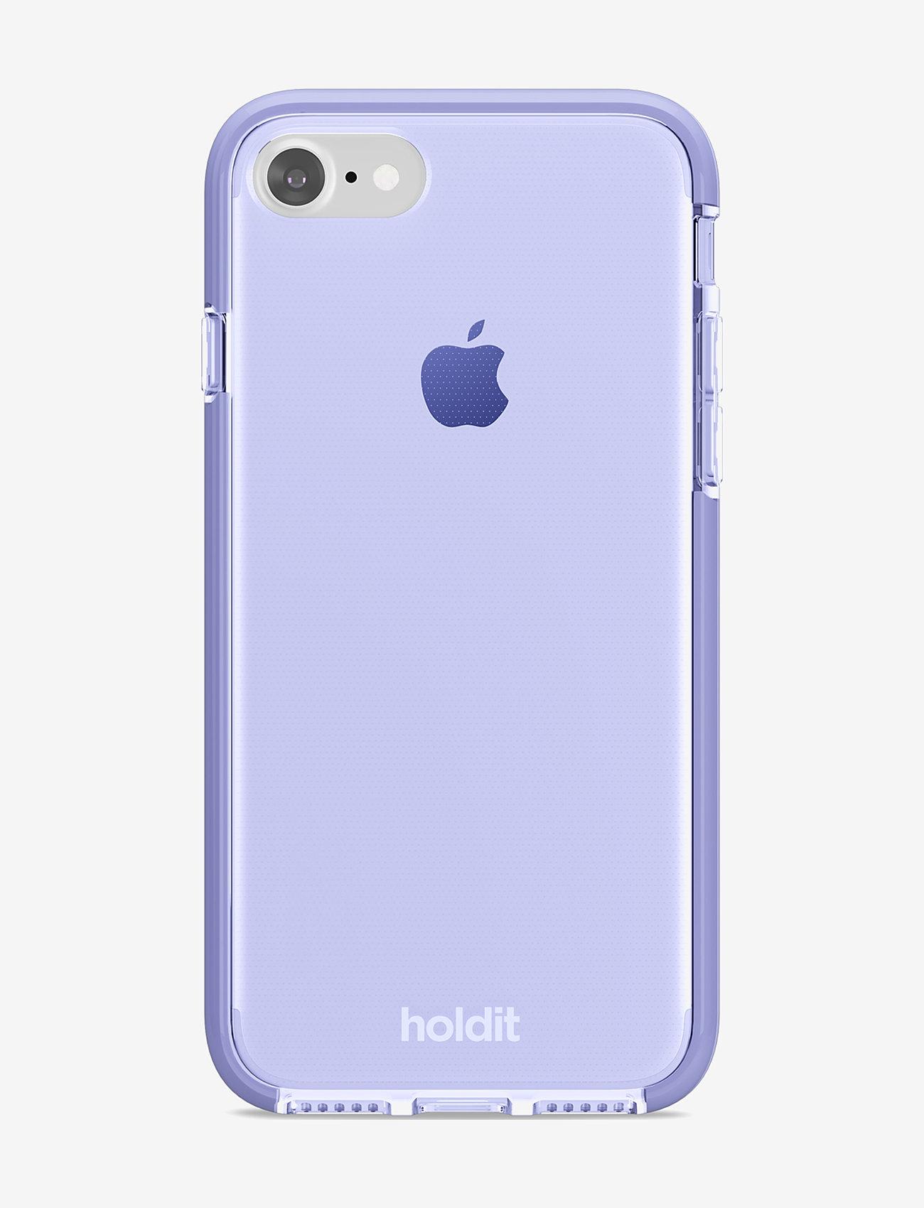 Holdit - Seethru Case iPhone 7/8/SE - puhelimen kuoret - lavender - 1