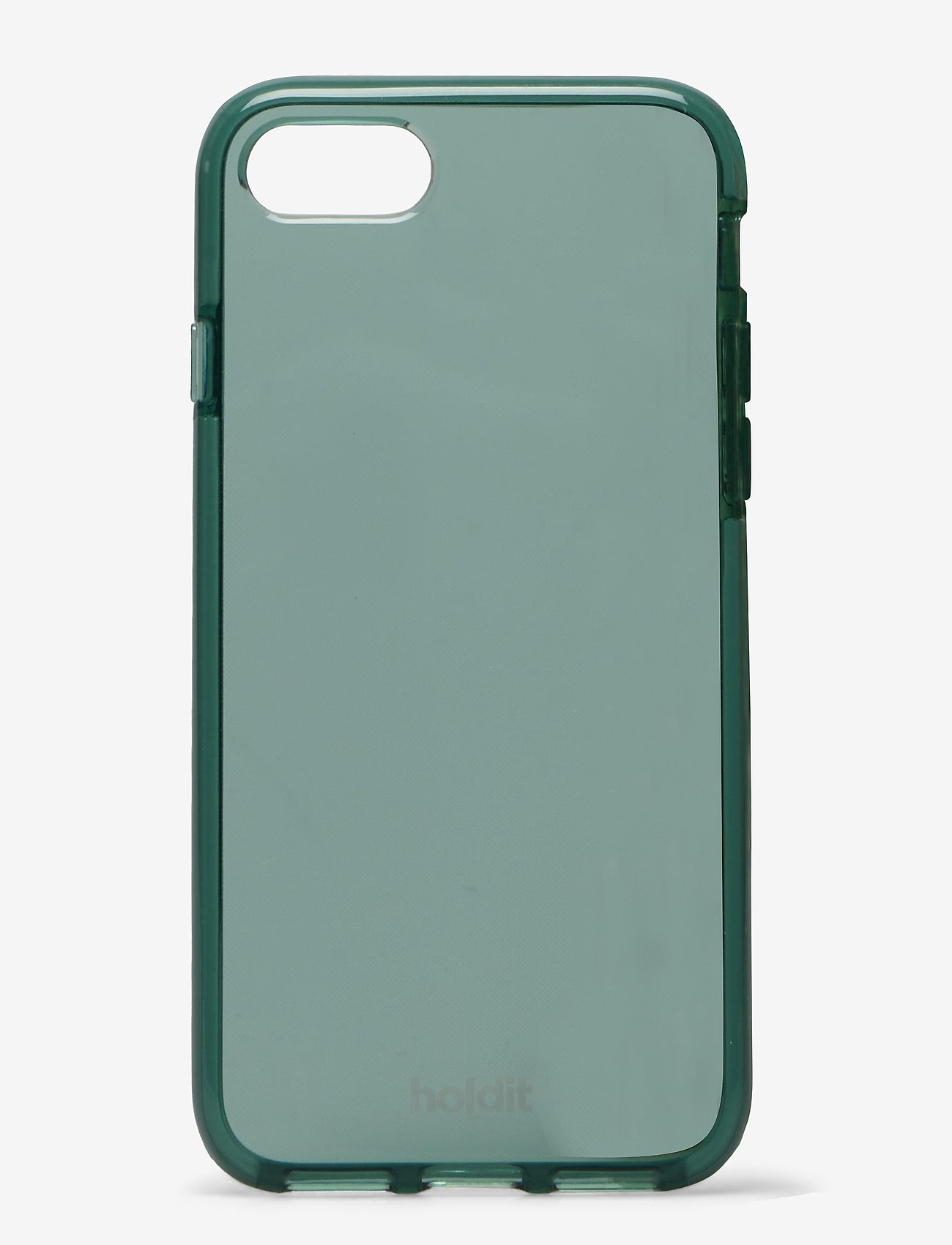 Holdit - Seethru Case iPhone 7/8/SE - puhelimen kuoret - moss green - 1