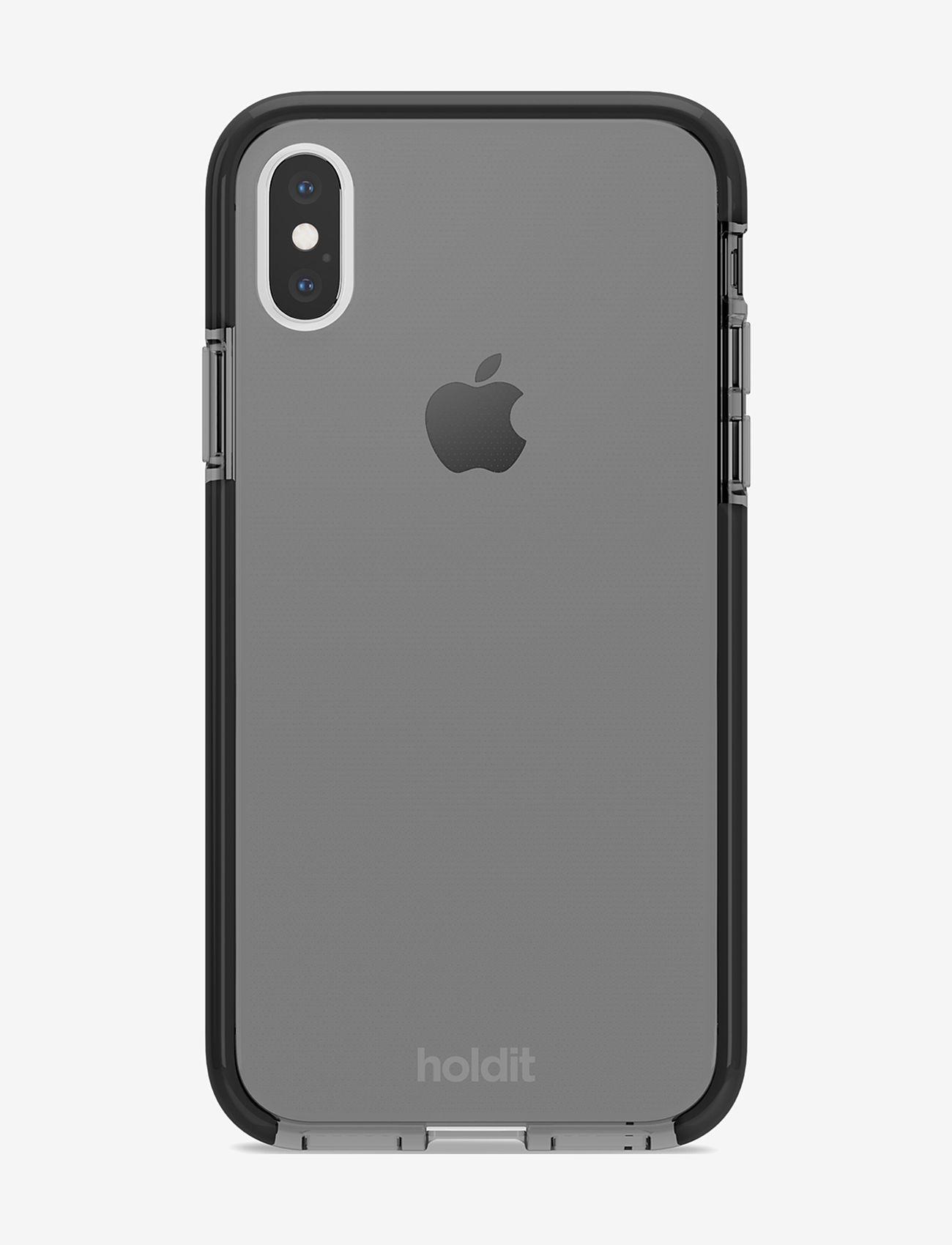Holdit - Seethru Case iPhone X/Xs - puhelimen kuoret - black - 1