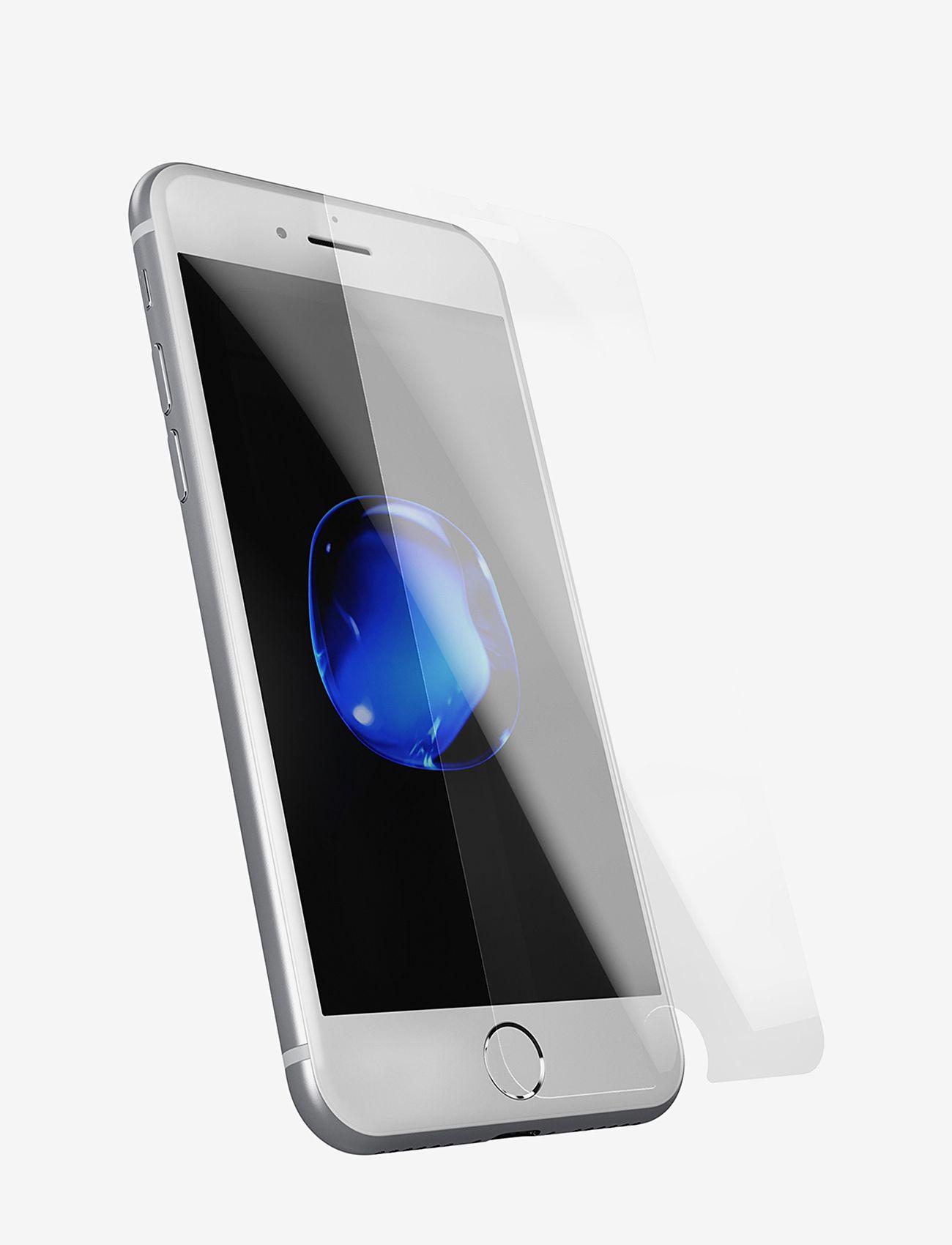 Holdit - Temp glass iPhone 6/6s/7/8Plus - suojakalvot - 2.5d transparent - 0