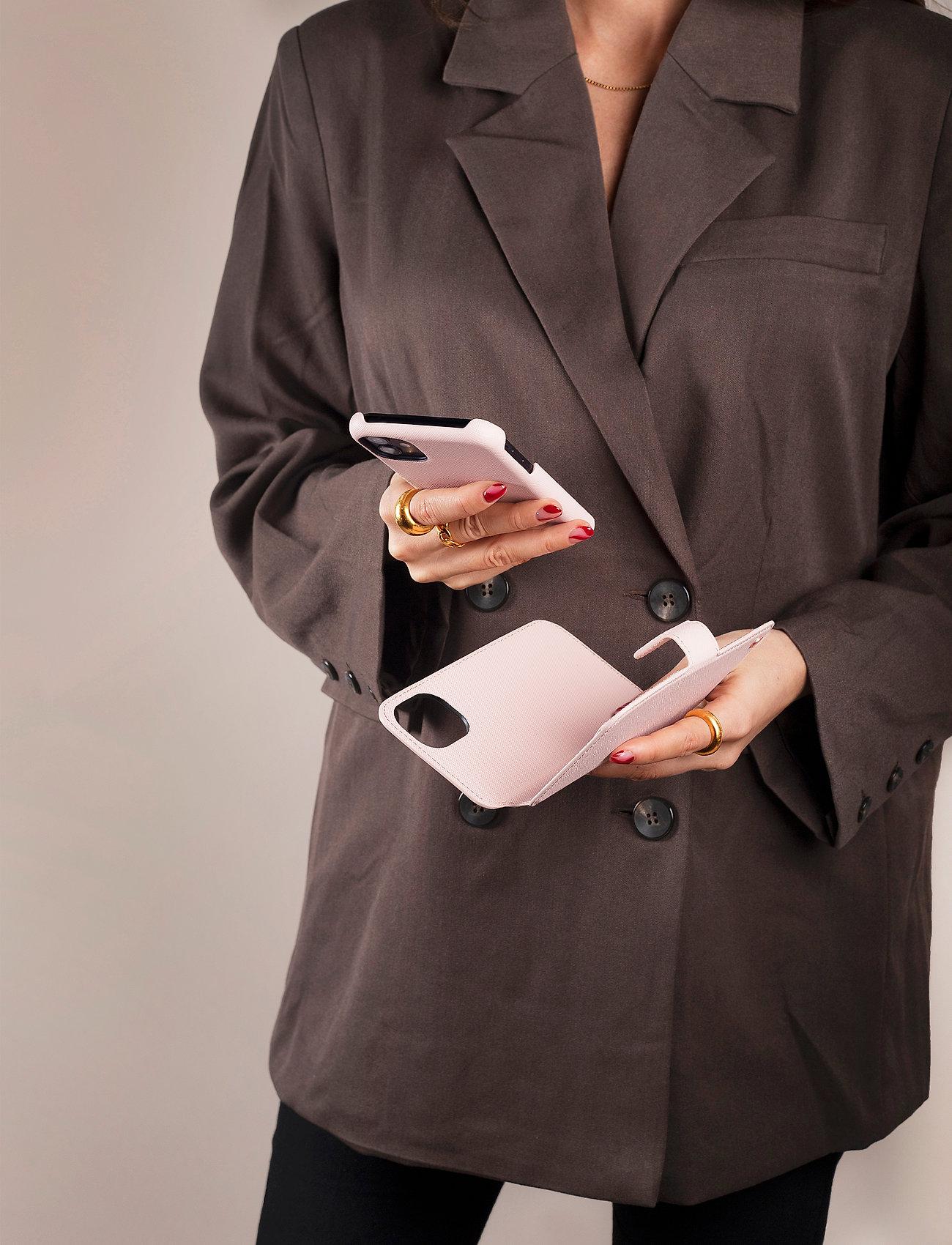 Holdit - Wallet Case Magnet iP 6/7/8/SE - puhelimen kuoret - stockholm silver - 0