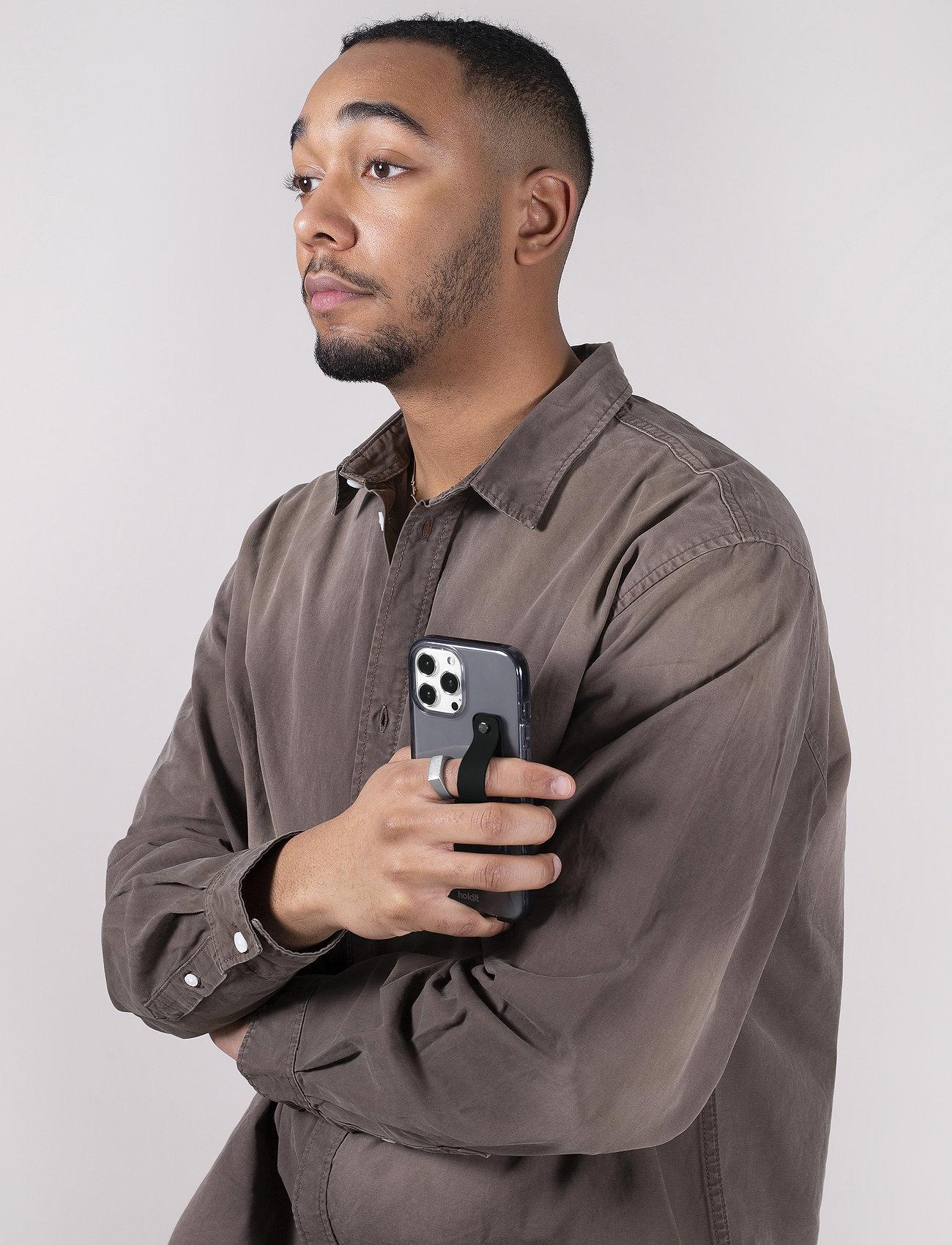 Holdit - Finger Strap - sormipidikkeet - black - 0