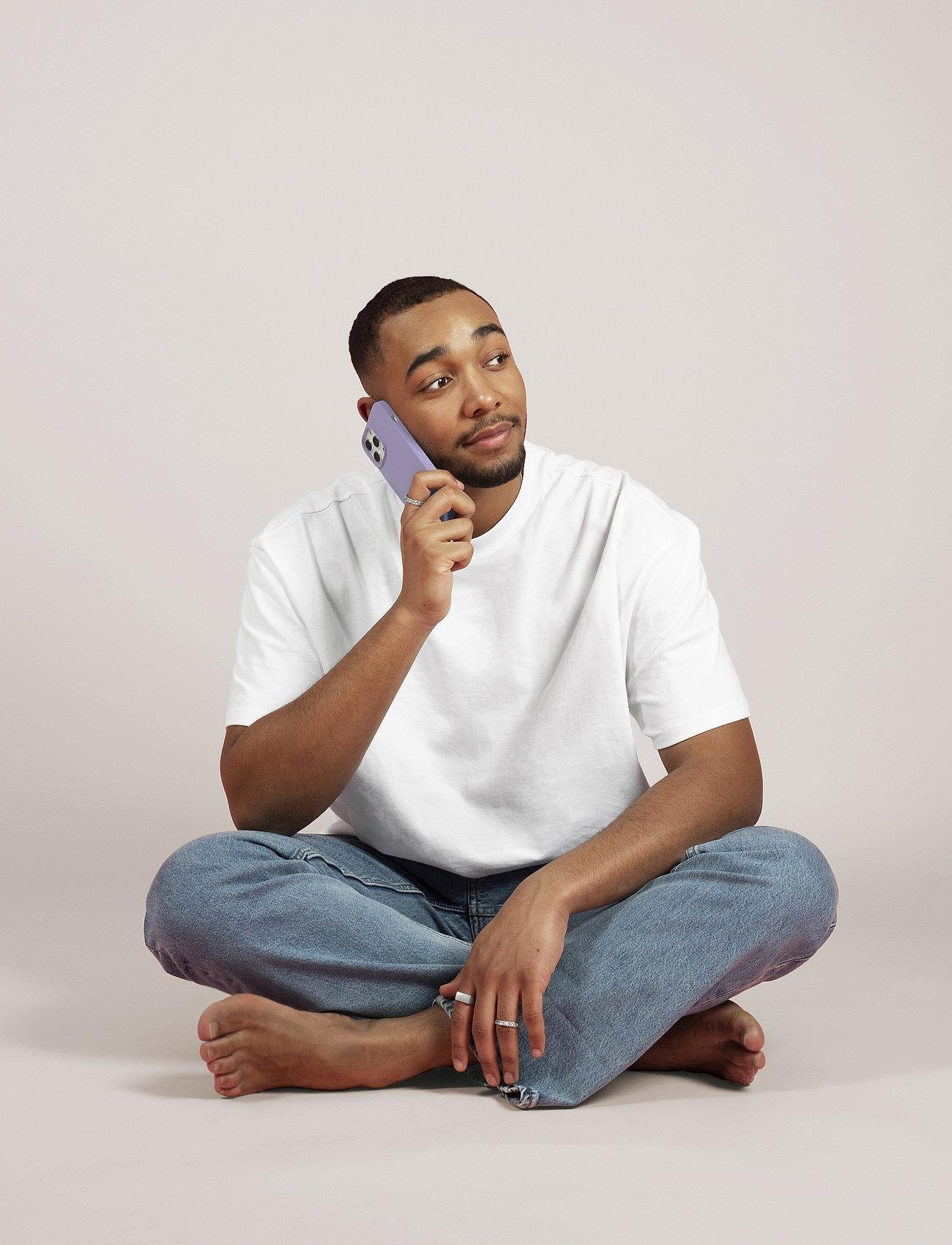 Holdit - Silicone Case iPhone 12/12Pro - puhelimen kuoret - pink peach - 0