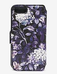 Holdit - Wallet Case Magnet iP 6/7/8/SE - puhelimen kuoret - stockholm purple mist - 2