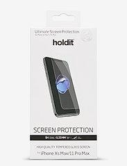 Holdit - Temp Glass iP11 Pro Max/Xs Max - suojakalvot - 2.5d transparent - 0