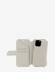 Holdit - Wallet Case Magnet iPh 11 Pro - puhelimen kuoret - stockholm celia taupe - 2
