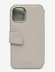 Holdit - Wallet Case Mag iPhone 11/XR - puhelimen kuoret - stockholm celia taupe - 2