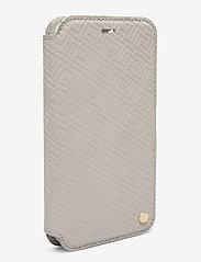 Holdit - Wallet Case Mag iPhone 11/XR - puhelimen kuoret - stockholm celia taupe - 3