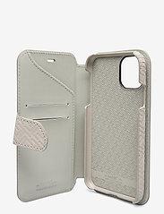 Holdit - Wallet Case Mag iPhone 11/XR - puhelimen kuoret - stockholm celia taupe - 4