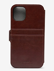 Holdit - Wallet Case Mag iPhone 11/XR - puhelimen kuoret - berlin dark brown - 2