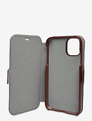 Holdit - Wallet Case Mag iPhone 11/XR - puhelimen kuoret - berlin dark brown - 3