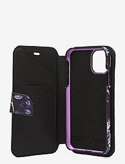 Holdit - Wallet Case Mag iPhone 11/XR - puhelimen kuoret - stockholm purple mist - 4