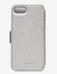 Holdit - Wallet Case Magnet iP 6/7/8/SE - puhelimen kuoret - stockholm silver - 2