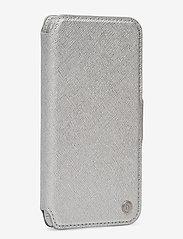 Holdit - Wallet Case Magnet iP 6/7/8/SE - puhelimen kuoret - stockholm silver - 3