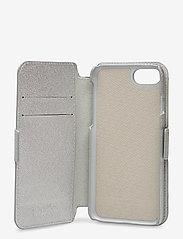 Holdit - Wallet Case Magnet iP 6/7/8/SE - puhelimen kuoret - stockholm silver - 4