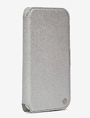 Holdit - Wallet Case Magnet iPh 11 Pro - puhelimen kuoret - stockholm silver - 3