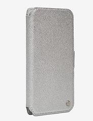 Holdit - Wallet Case Mag iPhone 11/XR - puhelimen kuoret - stockholm silver - 3