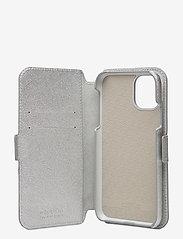 Holdit - Wallet Case Mag iPhone 11/XR - puhelimen kuoret - stockholm silver - 4