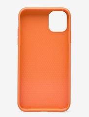 Holdit - Silicone Case iPhone 11 - puhelimen kuoret - orange - 2