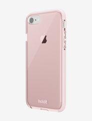 Holdit - Seethru Case iPhone 7/8/SE - puhelimen kuoret - blush pink - 3
